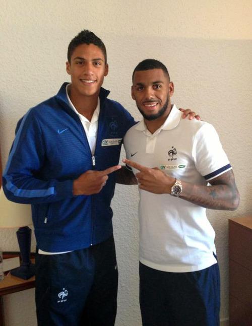 ¿Cuánto mide Raphaël Varane? - Altura - Real height Varan10