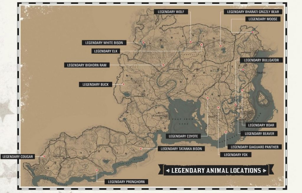 Guida: Animali Leggendari  Rdr2-110