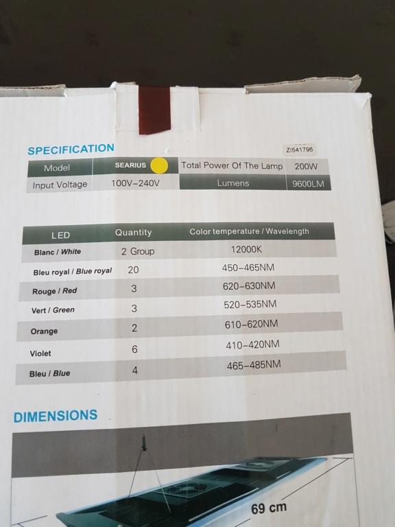 Eclairage oulivié searius pro 200w 20200520