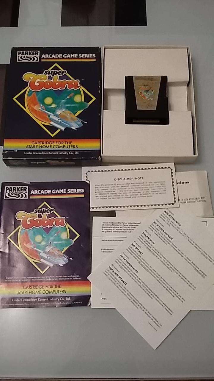 [ESTIM] Cartouches Atari XL XE 20190112