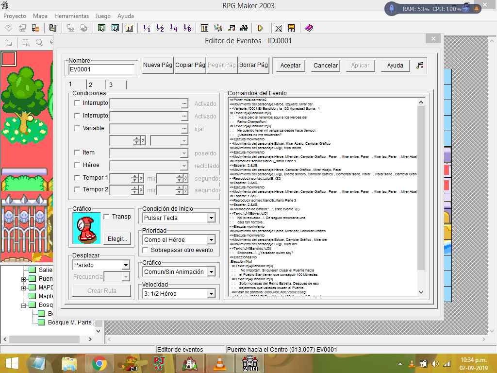 RPG Maker 2003 en Windows 8.1 Screen10