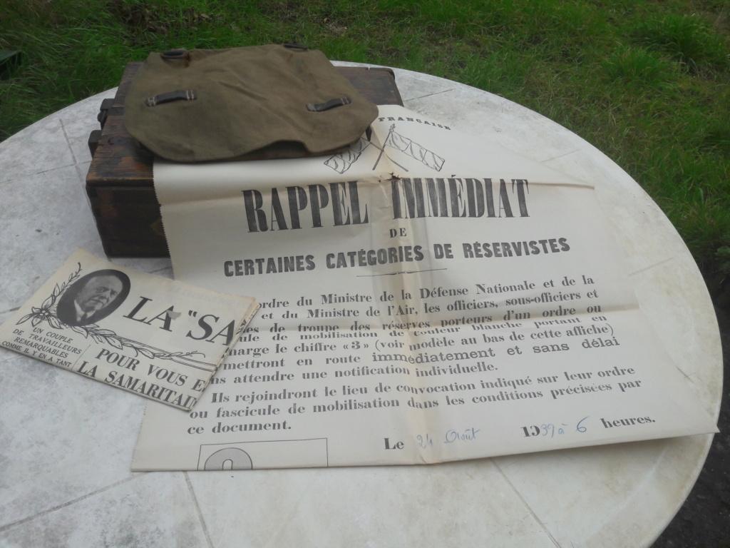 Petit matérielle allemande et affiche française ww2 20201212