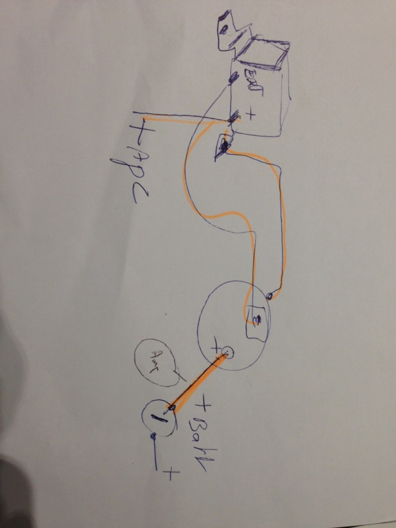 branchement électrique alternateur démarreur ...  Img_0612