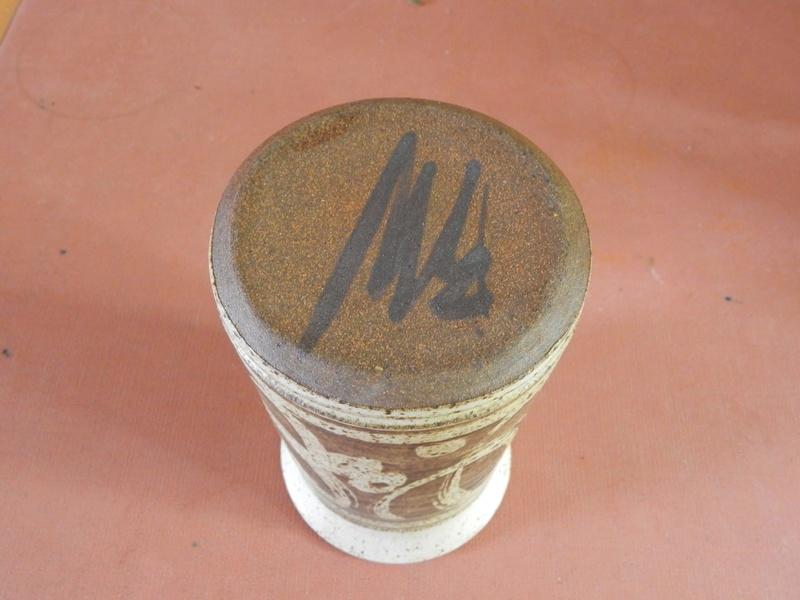 Stoneware Bowl and Vase Dscn2510