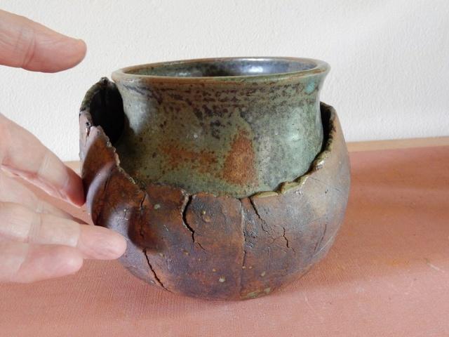 Stoneware Bowl and Vase Dscn2518
