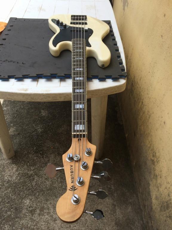 Super jazz bass fanned 5 cordas - S. Martyn Auburn10