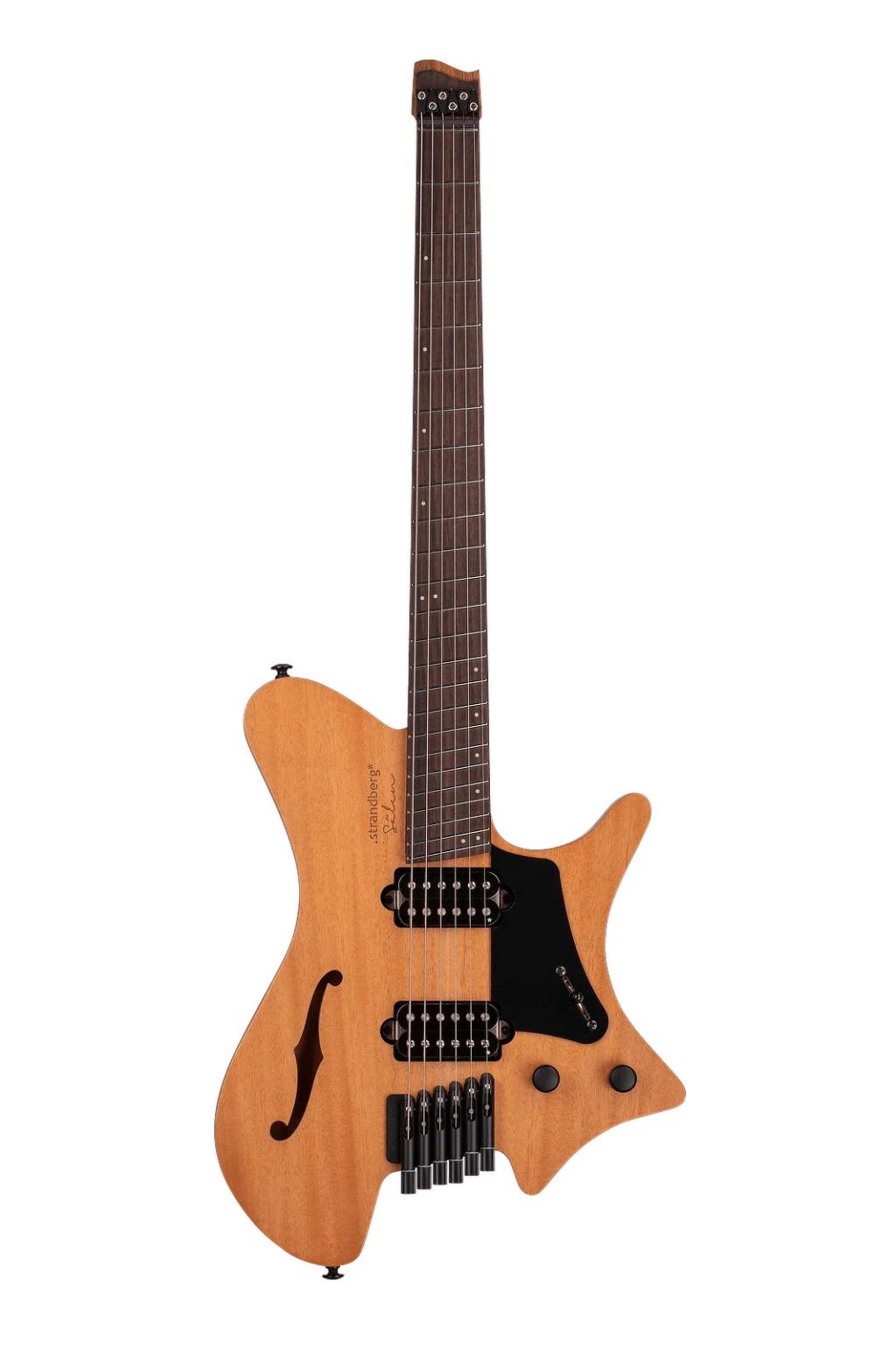 Zeraram a brincadeira - Strandberg fanned true temperament headless guitar Strand12
