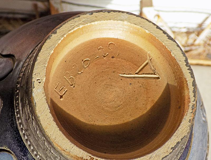vase EB20-29, Bouffioulx, Société Nouvelle des Grès de Bouffioulx, Belgium Belg310