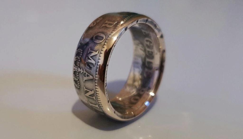 Bijoux à base de pièce de monnaie ( coin ring)  15292211