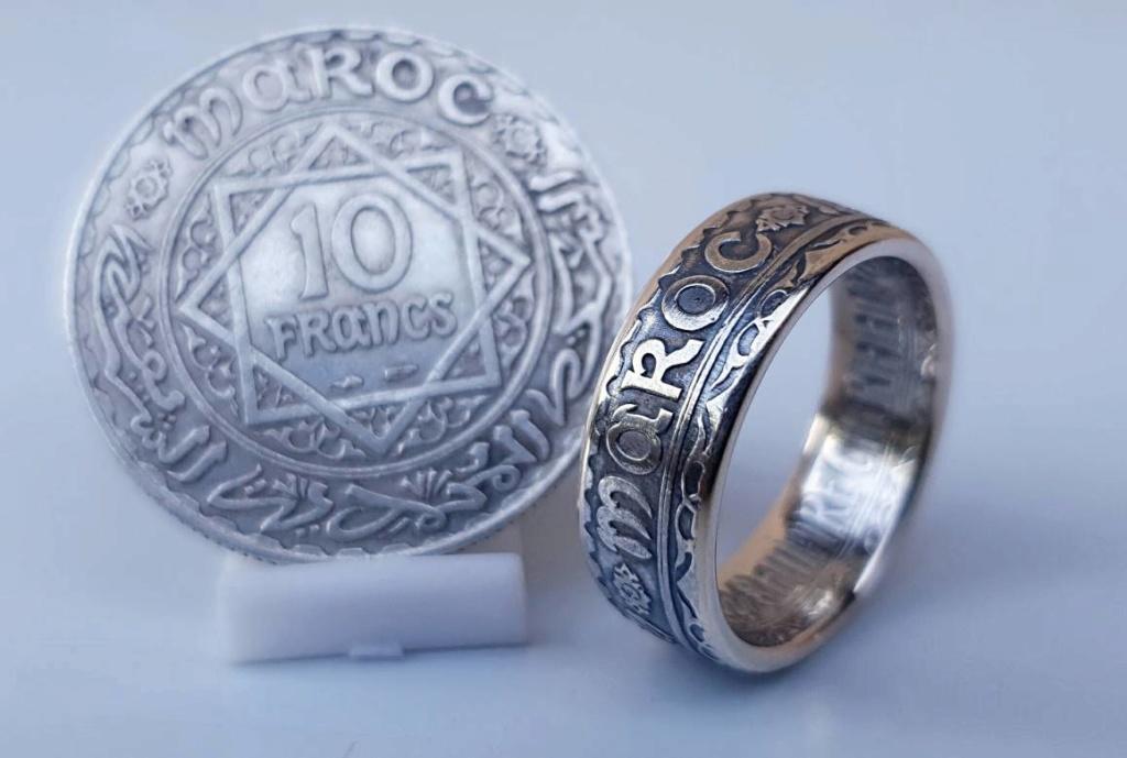 Bijoux à base de pièce de monnaie ( coin ring)  15301110
