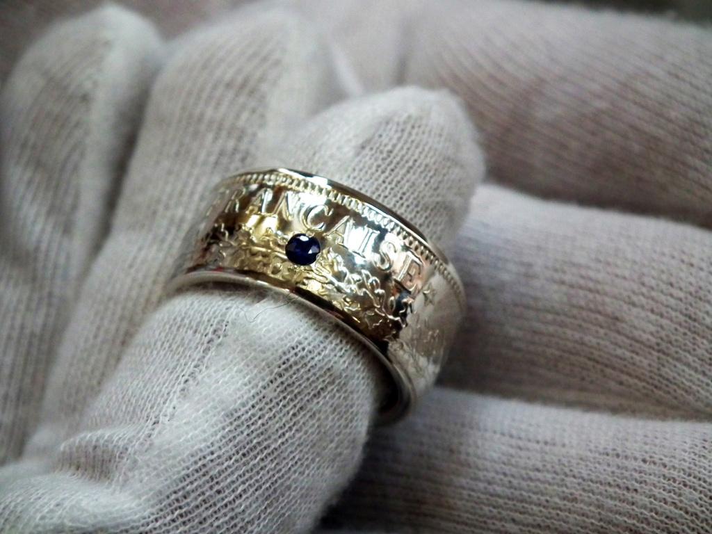 Bijoux à base de pièce de monnaie ( coin ring)  4010