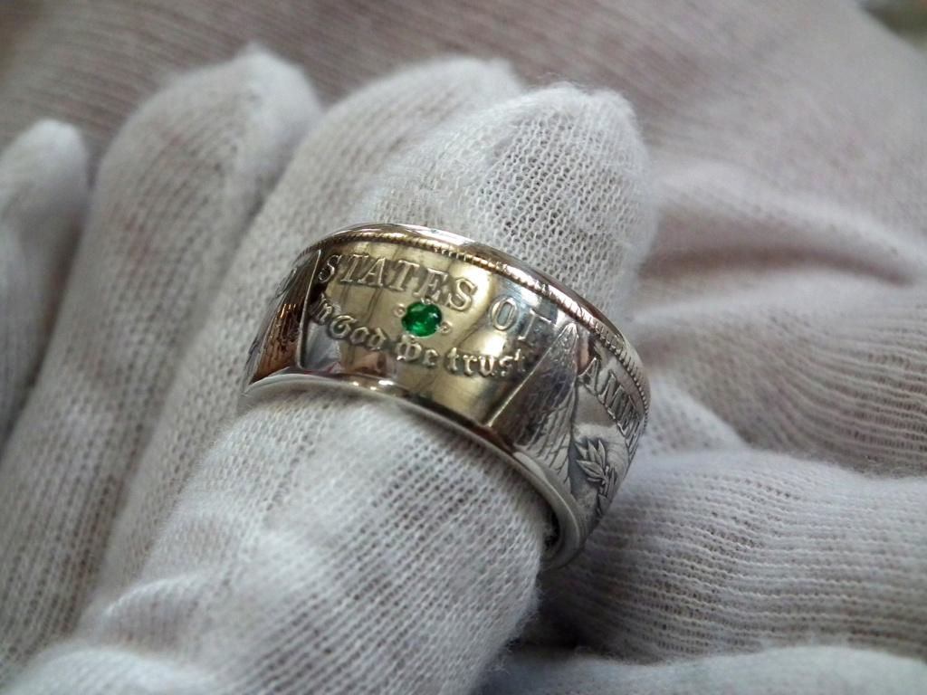 Bijoux à base de pièce de monnaie ( coin ring)  4111