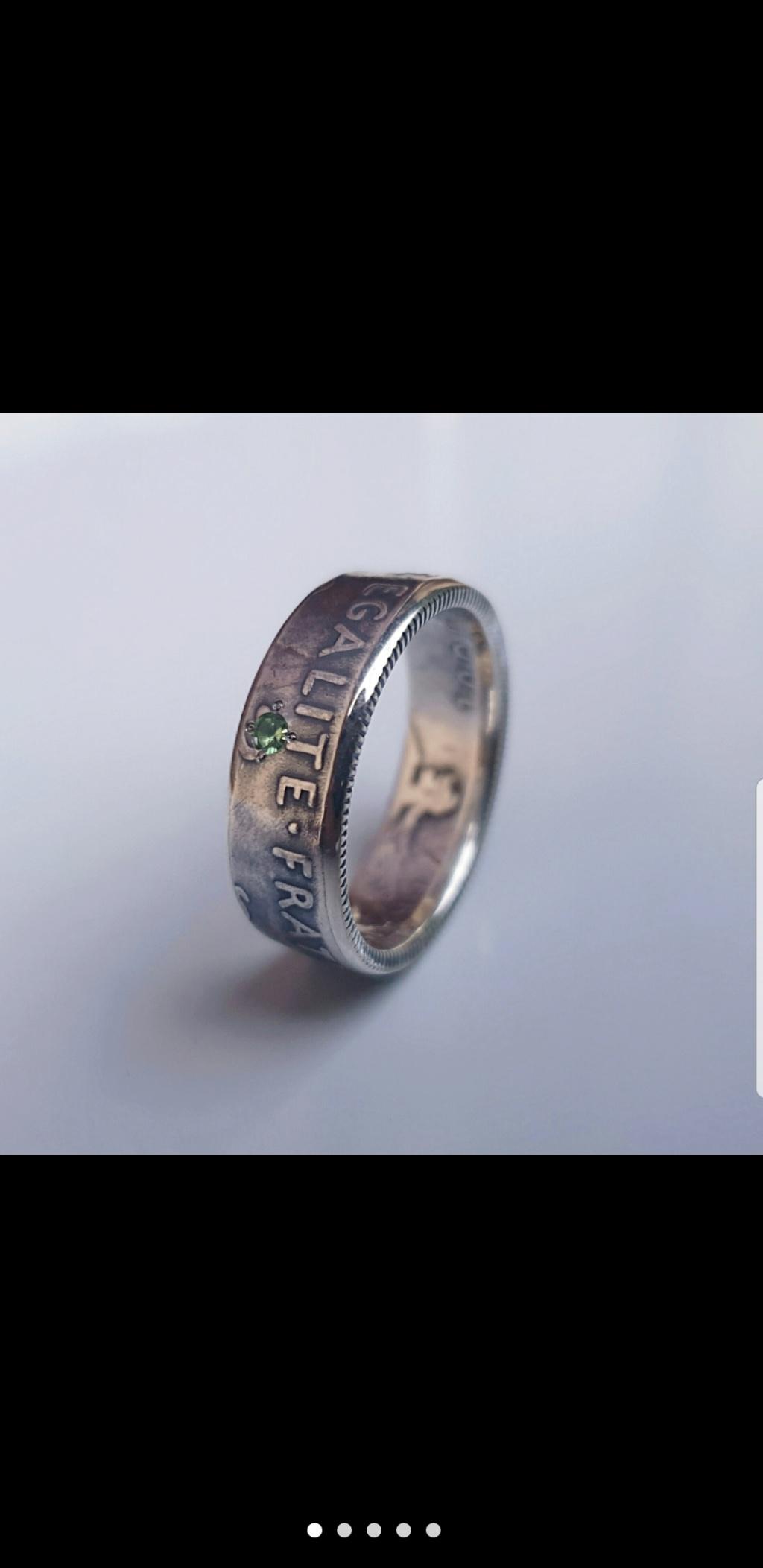 Bijoux à base de pièce de monnaie ( coin ring)  Screen23