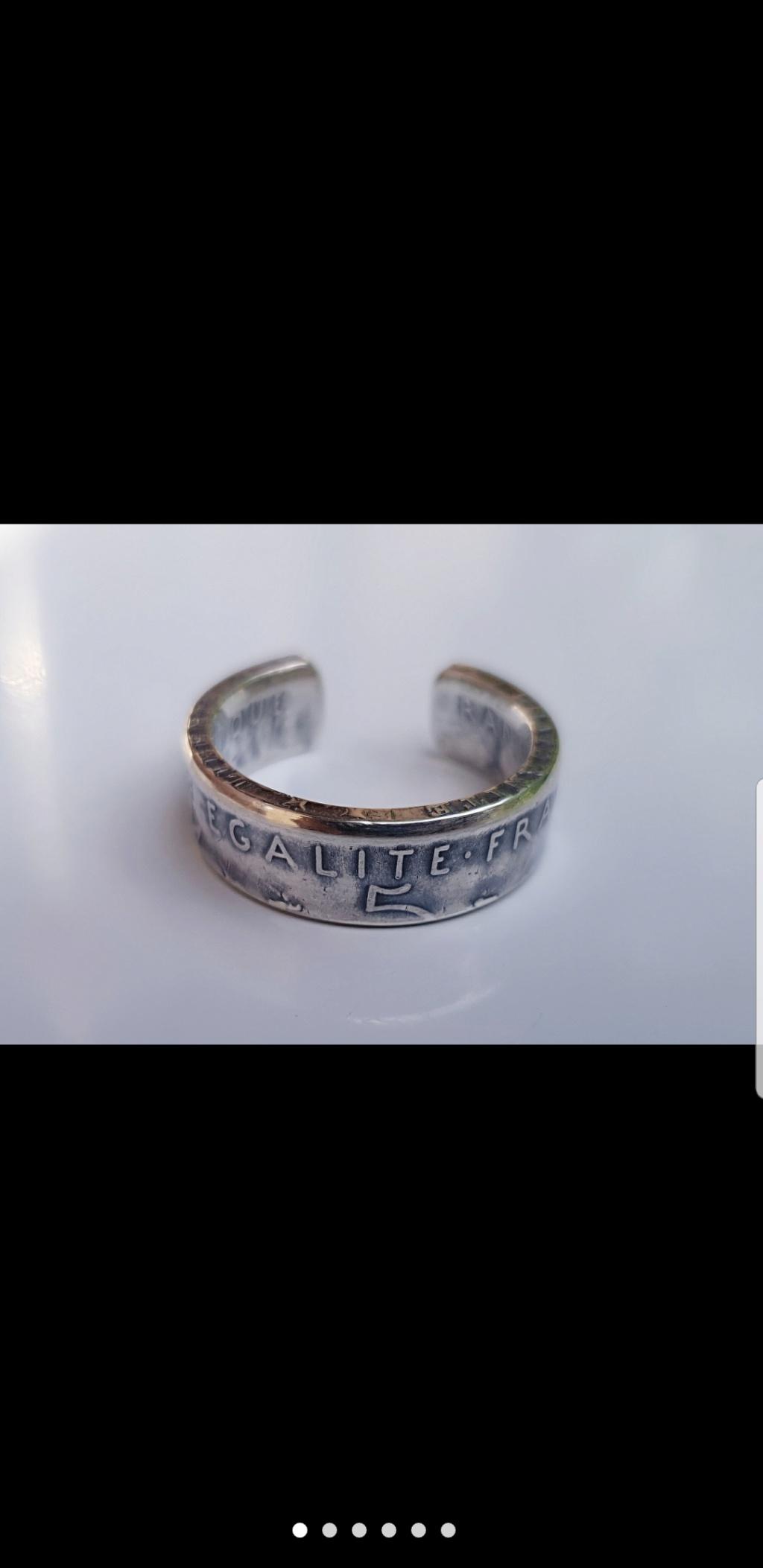 Bijoux à base de pièce de monnaie ( coin ring)  Screen24