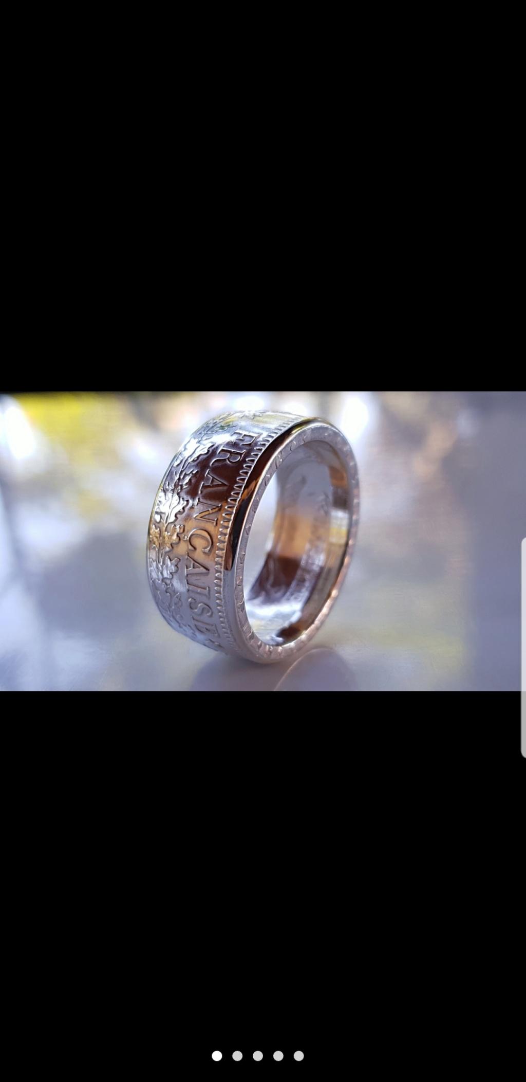 Bijoux à base de pièce de monnaie ( coin ring)  Screen25