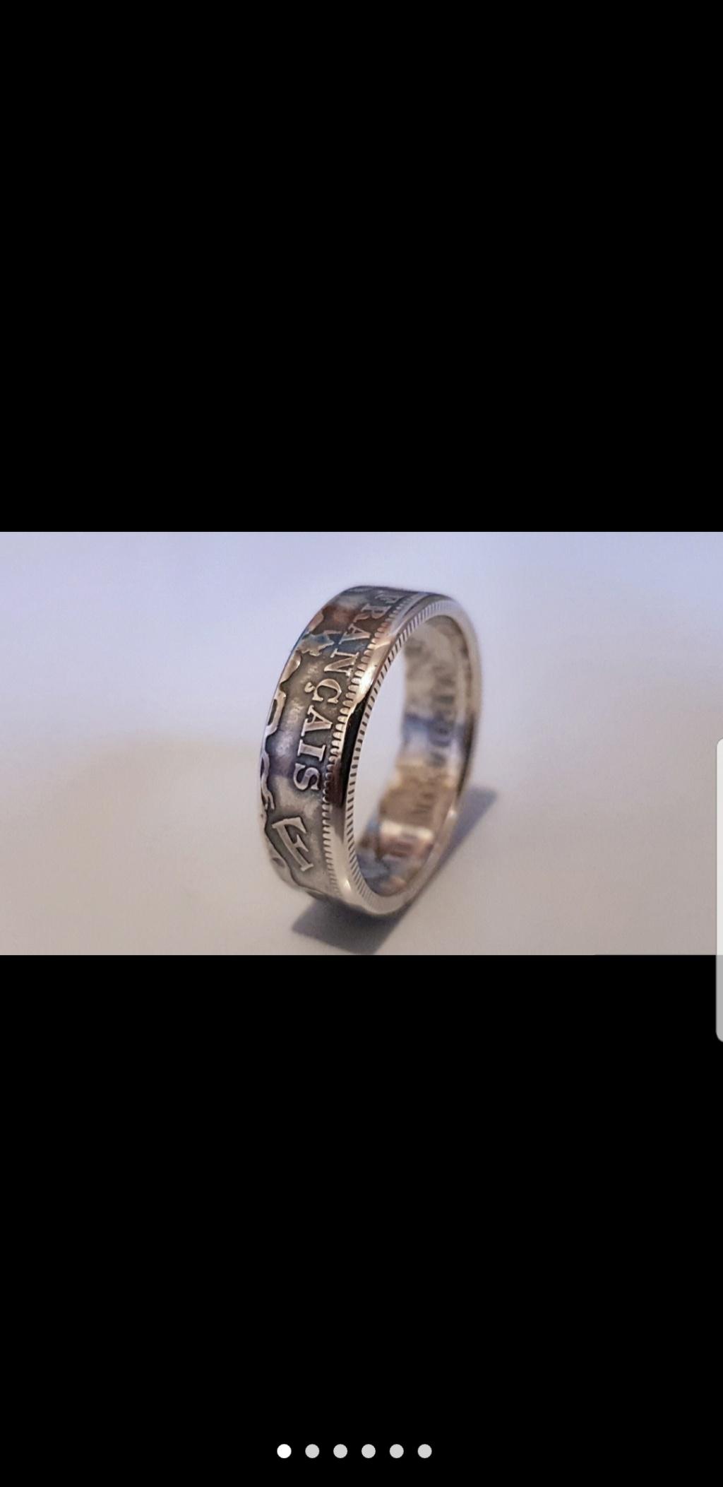Bijoux à base de pièce de monnaie ( coin ring)  Screen26