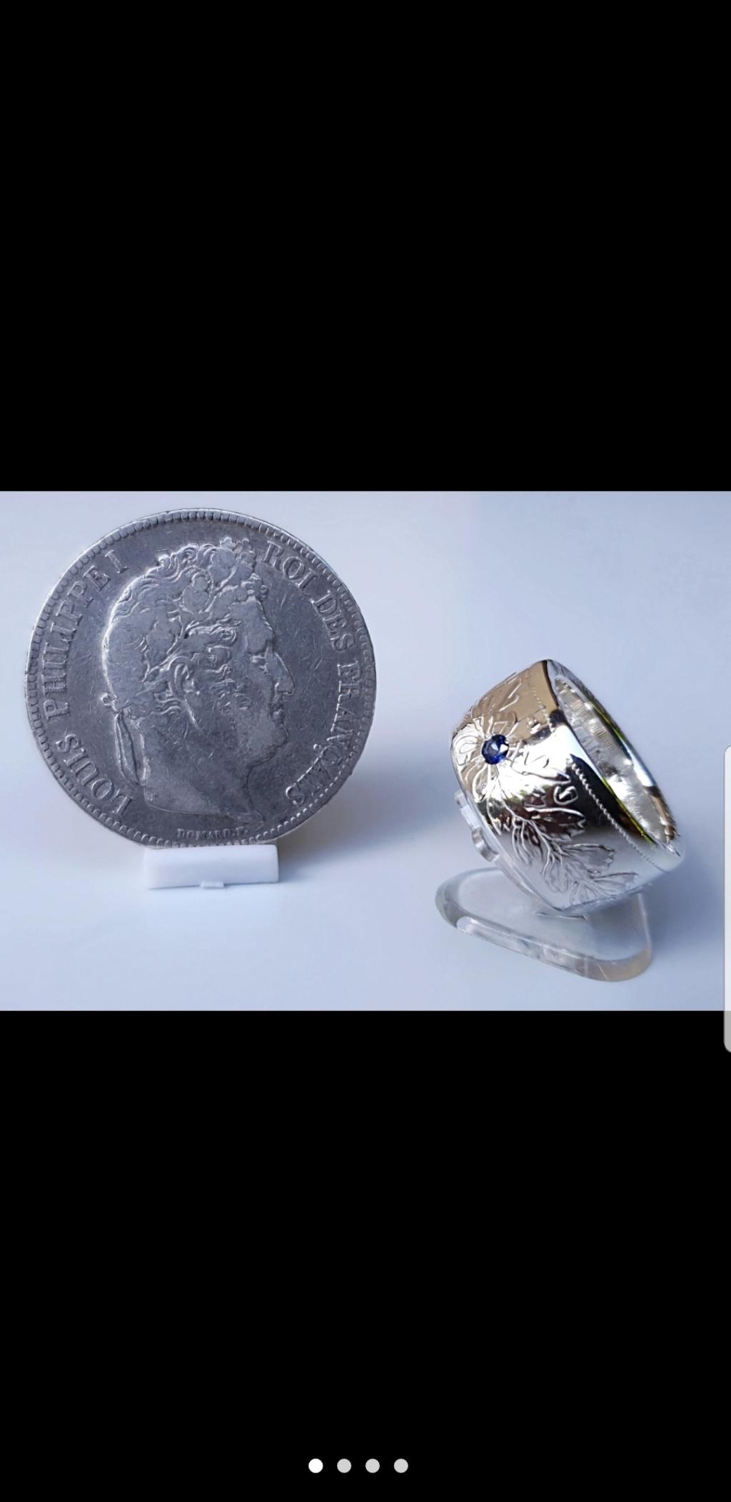 Bijoux à base de pièce de monnaie ( coin ring)  Screen27