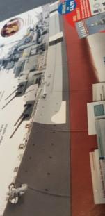 Multifunktions Modell von Hachette: Die Bismarck in 1/200  20190115