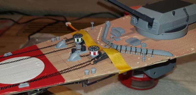 Multifunktions Modell von Hachette: Die Bismarck in 1/200  20190523