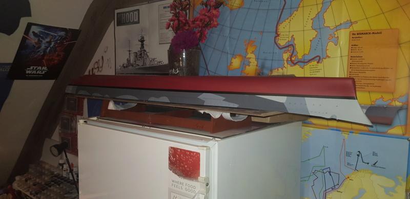 Die Scharnhorst von Hachette in 1/200 20200314