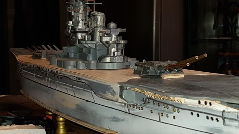Die Yamato von De Agostini in 1/250  20200420