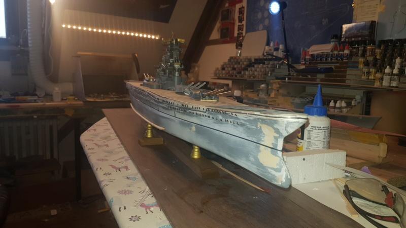 Die Yamato von De Agostini in 1/250  20200423