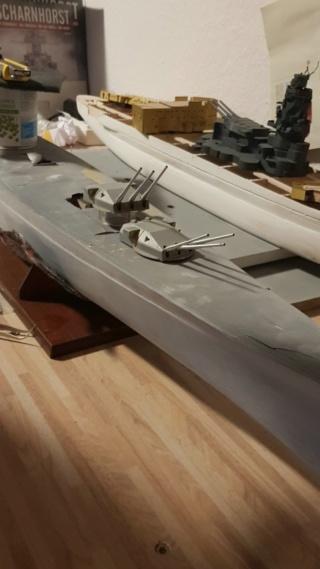 Die Scharnhorst von Hachette in 1/200 Comp_214