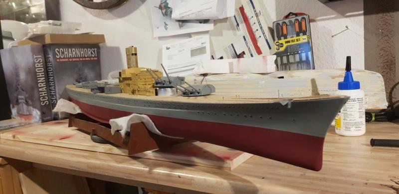 Die Scharnhorst von Hachette in 1/200 Scharn14