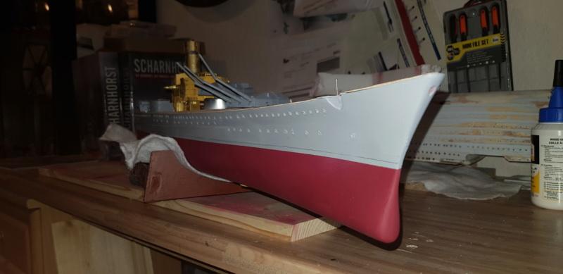 Die Scharnhorst von Hachette in 1/200 Scharn15