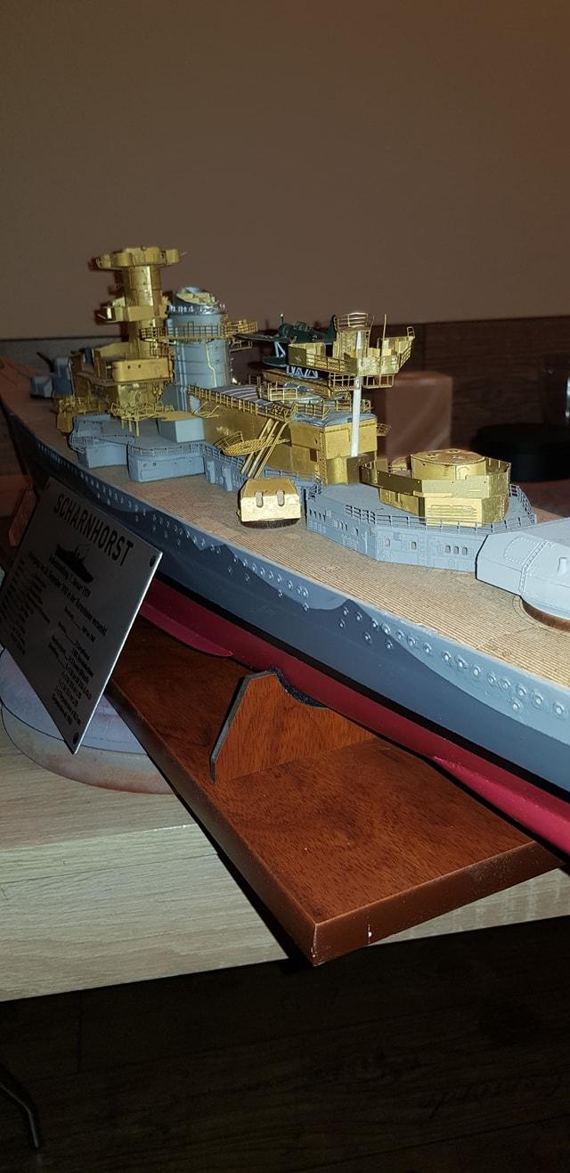 Die Scharnhorst von Hachette in 1/200 Scharn37