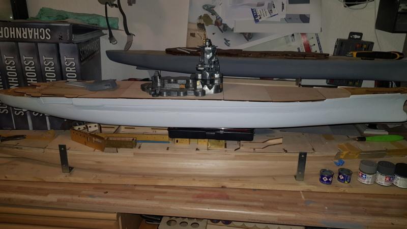Die Yamato von De Agostini in 1/250  Yamato10