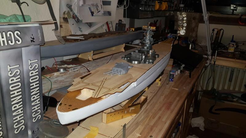 Die Yamato von De Agostini in 1/250  Yamato11