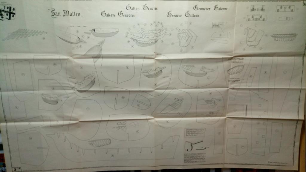 San Matteo Galeone Genovese disegni V. Lusci P_202015