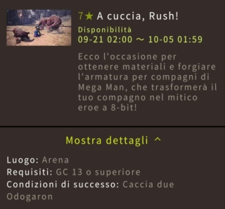 Guida a Monster Hunter World: Highlight Festival raccolto d'autunno 1710