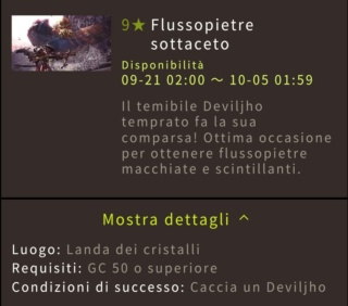 Guida a Monster Hunter World: Highlight Festival raccolto d'autunno 711