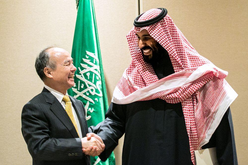 صندوق الاستثمارات العامة السعودي يستعد لاستثمار 45$ مليار في SoftBank Vision Fund التقني Acia_a10
