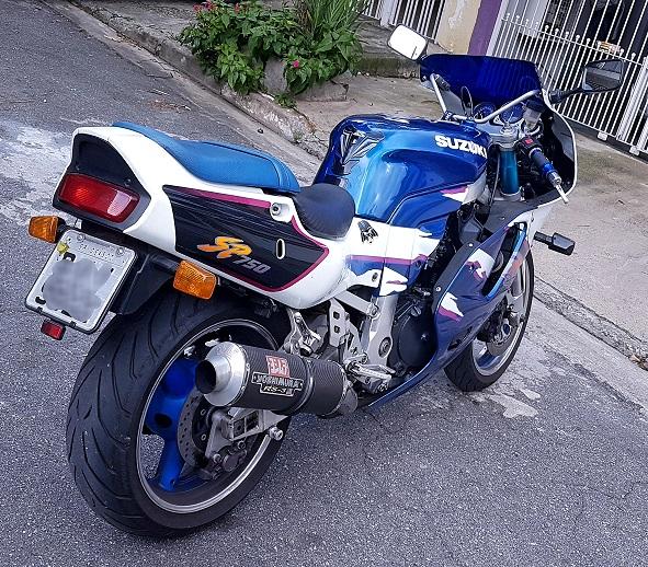 De volta ao Grupo!!  Suzuki GSXR 750SP 1994 20190311