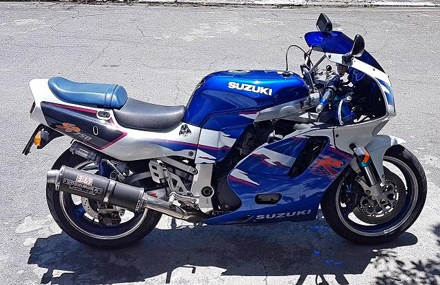 De volta ao Grupo!!  Suzuki GSXR 750SP 1994 20200211