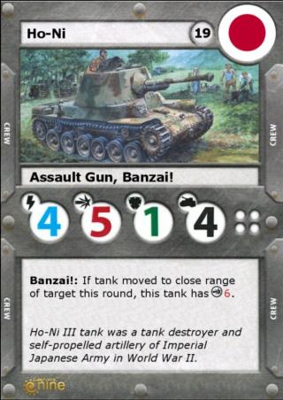 Ho-ni tank destroyer Micros22