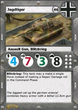 Jagdtiger tank destroyer Micros25