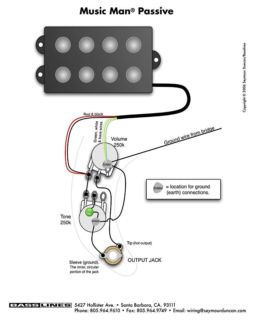 Esquema de elétrica do Tagima TBM5 (Deixar passivo e usar chave 2p4t) C435a810