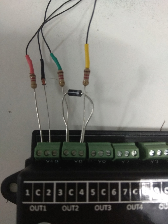 Conectar señales de 3 aspectos Conexi10