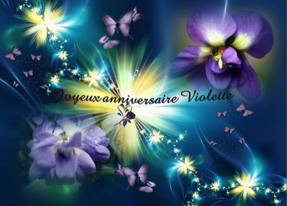 Violette, Vio,Vio Birthday Now Annive10