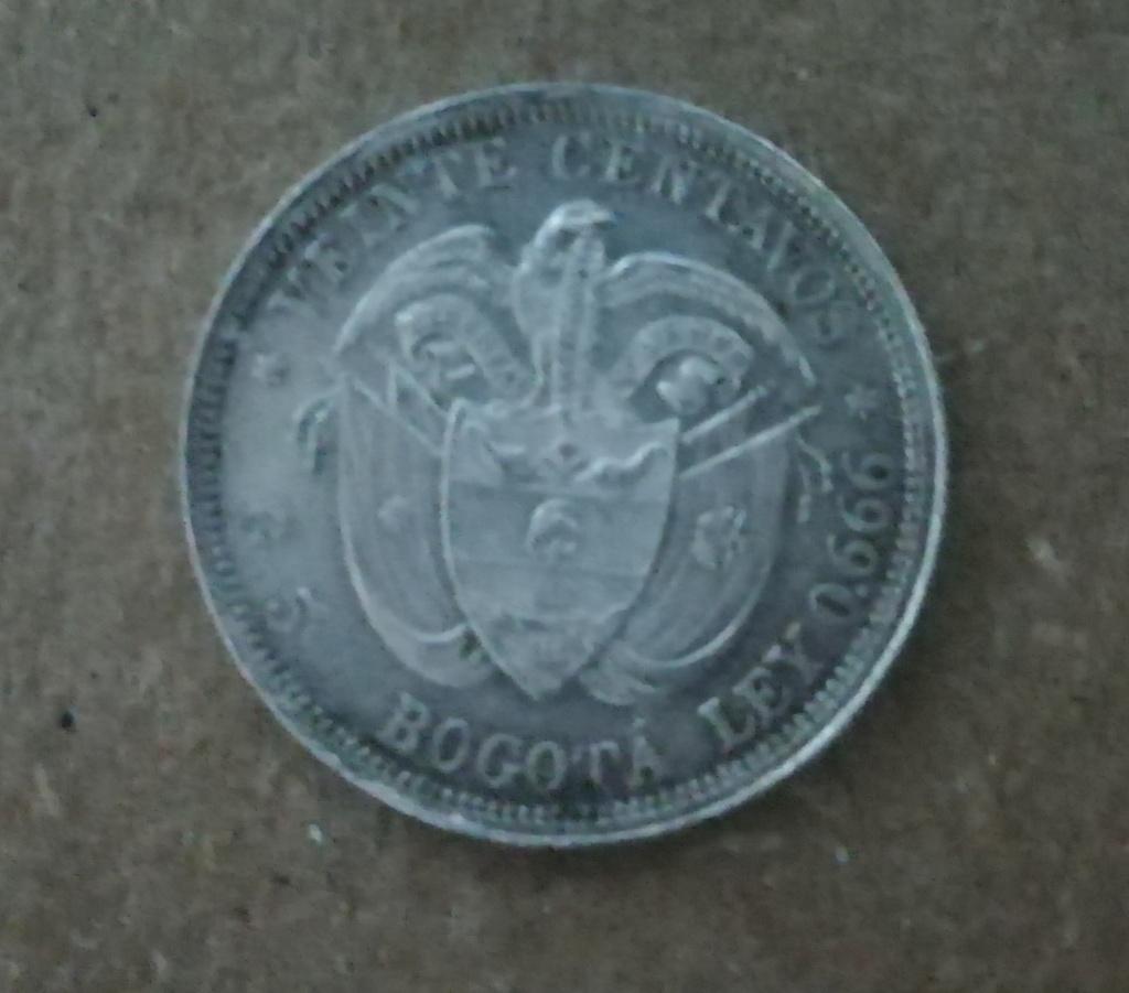 20 Centavos 1897. Colombia. Ayuda y opinión. Img_2013