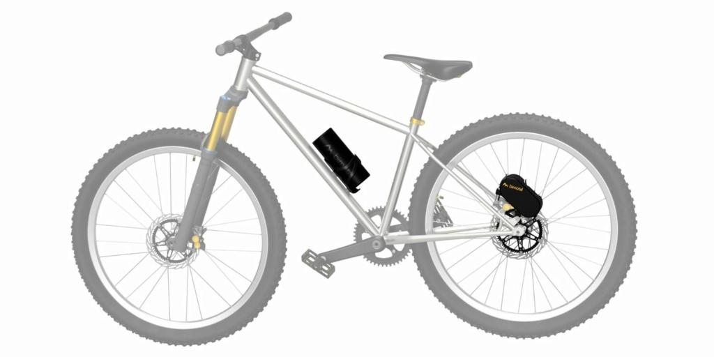 Электрический велосипед из обычного? Легко! Bimotal. США A55