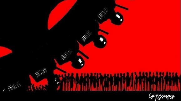 Прекратить уголовное дело против участников мирной акции 27 июля 2019 года в Москве Canvas17