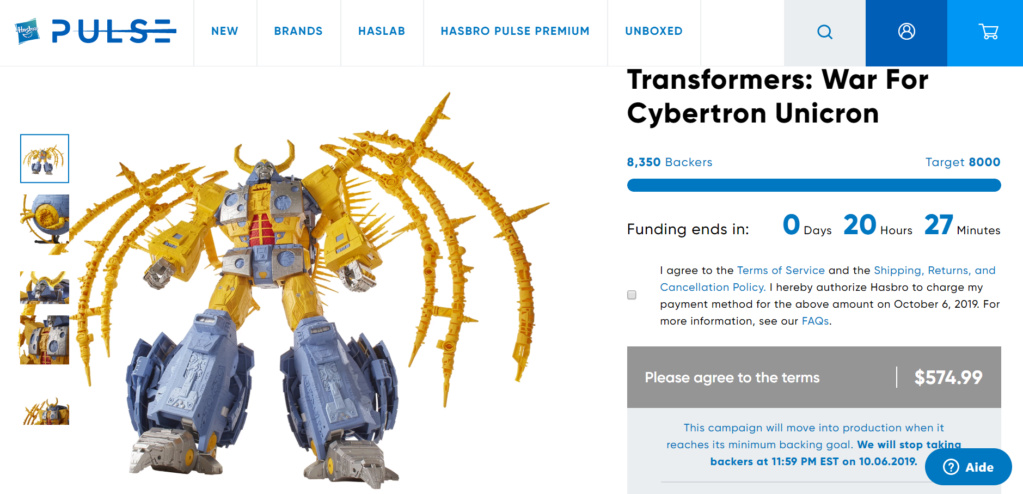 HasLab ― Transformers: War For Cybertron Unicron ― par financement participatif - Page 6 Unicro10