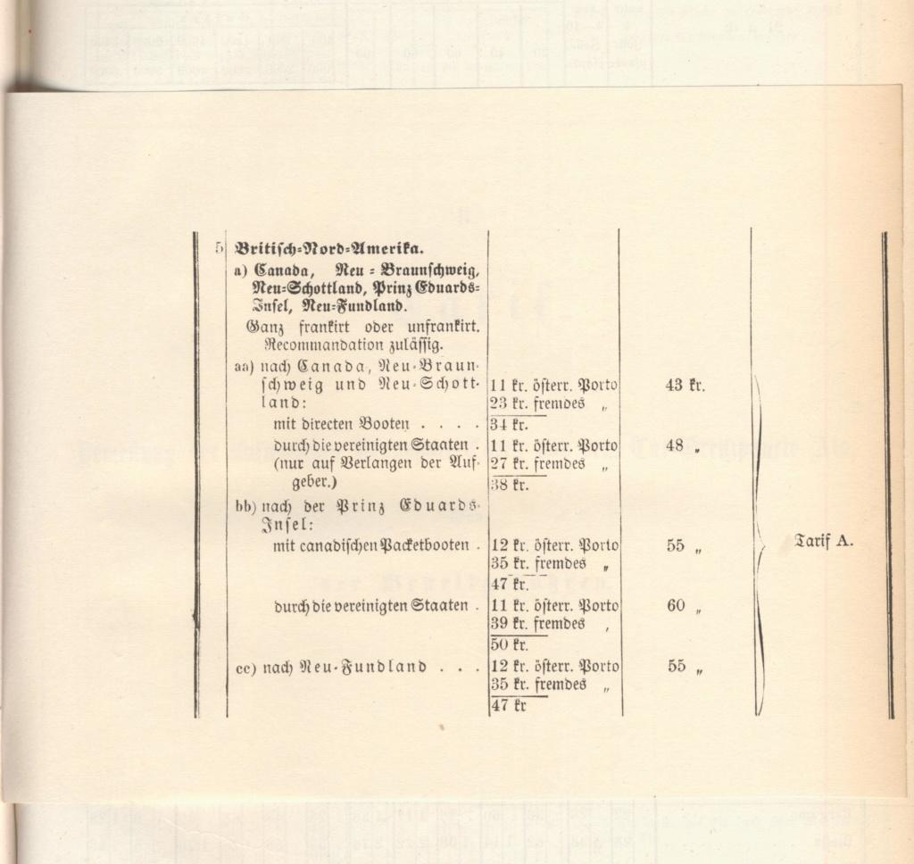 Portogebühren ins Ausland 1867 bis 1900 Korrek10
