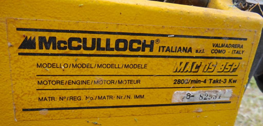 Cerco manuali e/o info su tagliaerba McCulloch Dscf0318