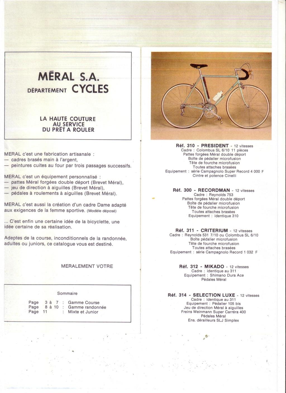 Meral Full 531 - Shimano DA Scan1010